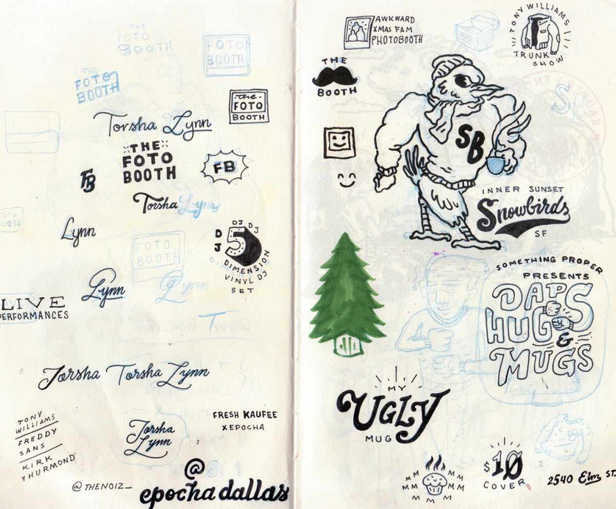 Joonbug's sketches.